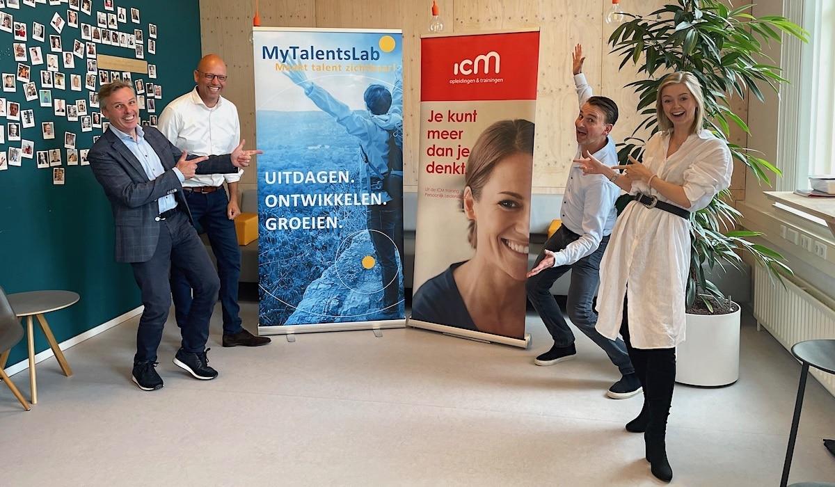 Partnerschap tussen ICM opleidingen & trainingen en MyTalentsLab